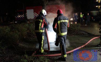 Brandje in ondergrondse container in de wijk Noorderpark Assen