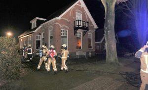 Brand in woonboerderij in Gasselternijveenschemond door kerststukje