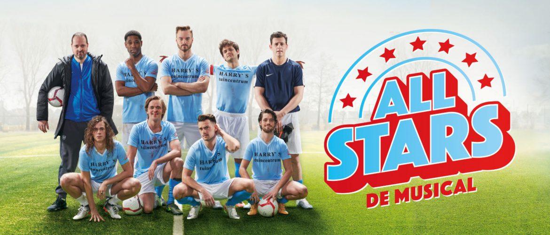 All Stars na het overweldigende succes van de films en serie nu ook in het theater