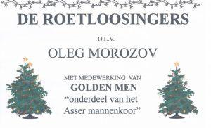 Kerstconcert van de Roetloosingers in de Jacobuskerk in Rolde