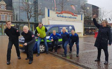 'Gezellige reuring in binnenstad Assen''