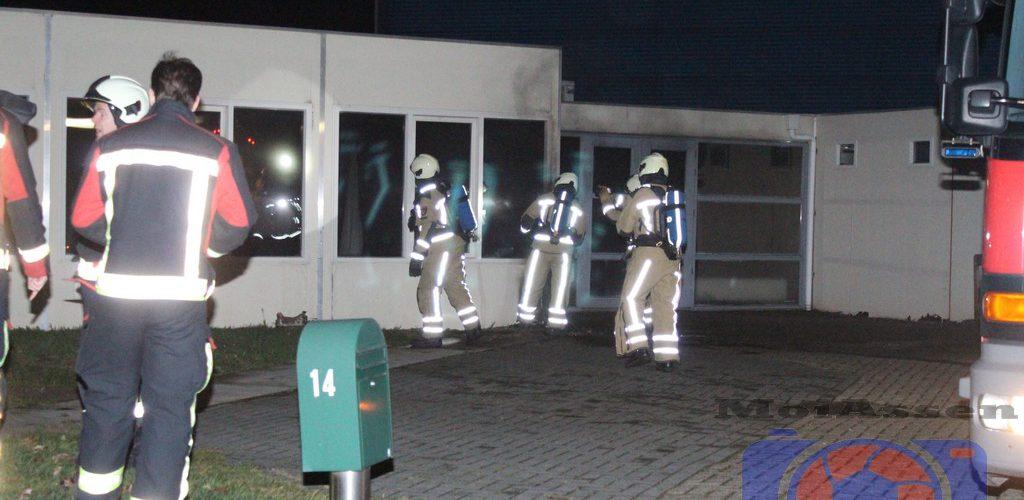 Wederom brand in leegstaand bedrijfspand aan de Azieweg in Assen