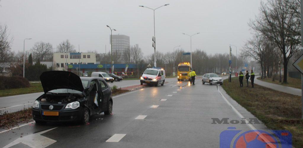 Vrouw bekneld bij ongeval op de Europaweg-Zuid in Assen