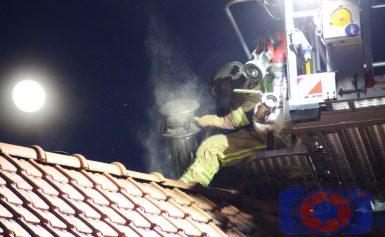 Brandweer gealarmeerd voor schoorsteenbrand in Assen