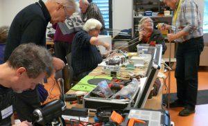Repair Café Assen gaat verspilling tegen