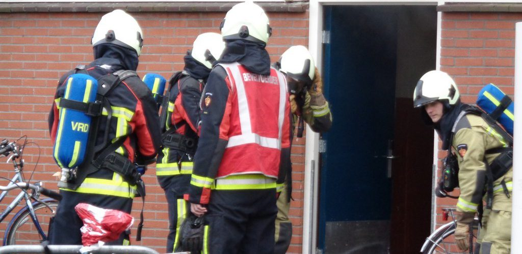 Brand in kelderbox aan de Oosterboekstraat in Assen