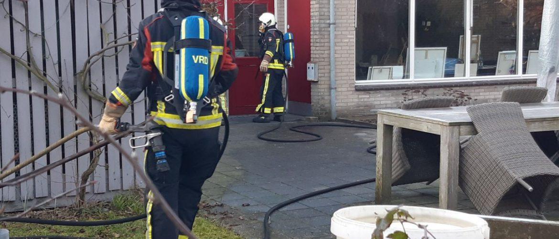 Brand in lokaal stichting Noorderbrug Assen doet brandweer Assen uitrukken