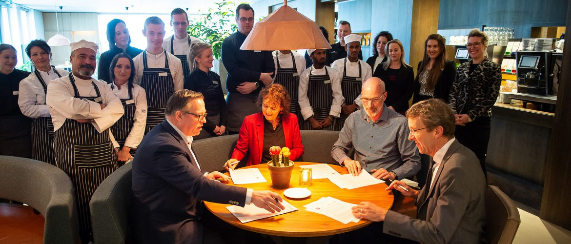 Hof van Saksen is samenwerking gestart met Drenthe College en Werkplein Drentsche Aa