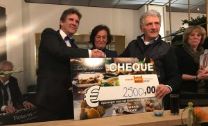 Kiwanis Tasty Dinner levert 2500 euro op