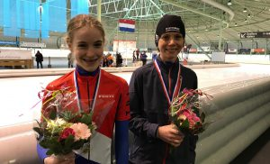 Assenaren op podium NK wintertriathlon