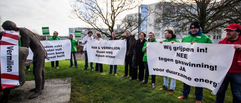 Noordelijk 'Nee' tegen nieuwe gaswinning door Vermilion en NAM