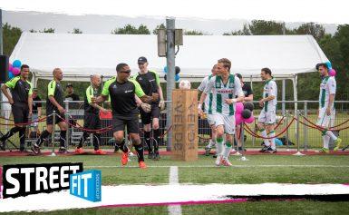 StreetFit voetbaltoernooi bij Asser Boys