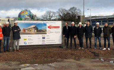 Nieuwe busstalling in Emmen