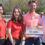 Grand Prix-ruiter Nars Gottmer haalt €1.600,- op voor goede doel