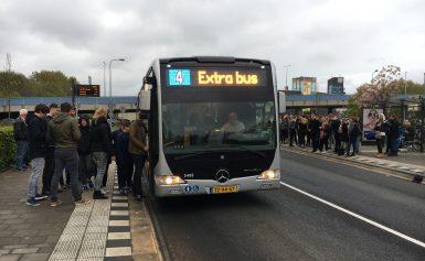 Extra bussen Koningsnacht en Koningsdag