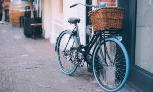 Fietsen in Drenthe staan veilig