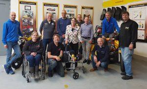 Werkbezoek CvdK Jetta Klijnsma aan Motor Mobiliteit voor Gehandicapten