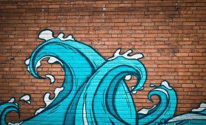 Kunstproject 'onderwaterwereld in graffiti' genomineerd voor een gouden Prokkel