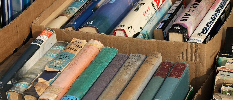 De veertiende boeken- en muziekmarkt staat voor de deur