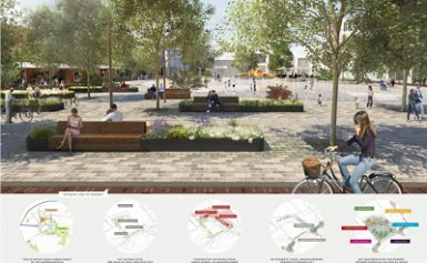 Winnend ontwerp Koopmansplein is van OKRA