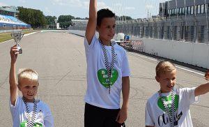 Kinderen Kids First vallen in de prijzen bij TT-run