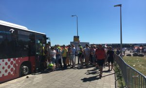 Extra bussen Gamma Racing Day