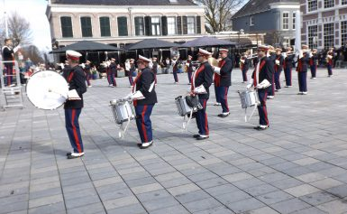 Speel mee: open repetitie bij marching-/showband Mercurius Assen
