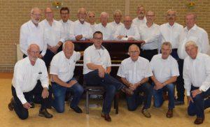Algemeen mannenkoor Midden-Drenthe hervat de repetities