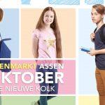 Groep 8 leerlingen en ouders naar Scholenmarkt Assen