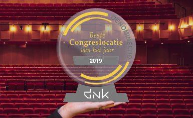 DNK genomineerd als Beste Congreslocatie van 2019