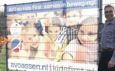 Korfbalvereniging AVO en Kids First; samen in beweging!