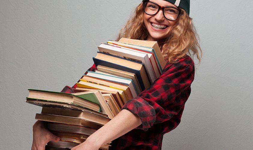 Tweedehands boekenverkoop bij DNK