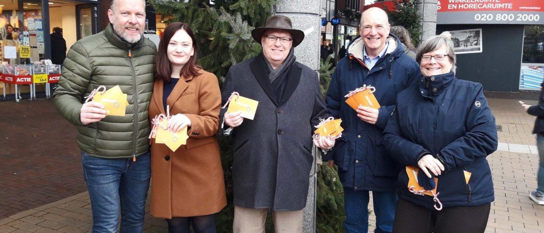 VVD Assen bedankt bezoekers binnenstad