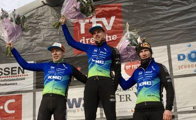 Smeenge, Verhoeven en Mos op het podium in Drenthe 200