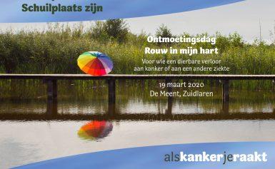 19 maart 2020: Ontmoeting 'Rouw in mijn hart' in Zuidlaren