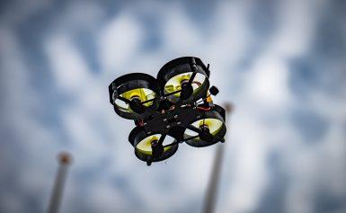 Open Noord Nederlands Kampioenshap Drone Racen tijdens Hobbyevent