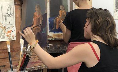 Zomeracademie: schilderend de zomer in