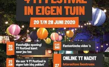 4 TT Festival in eigen tuin