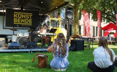 Aanstormend muzikaal talent van Kunstbende Drenthe speelt tijdens Preuvenement aan huis