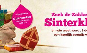 Sinterklaas speurtocht door centrum van Assen