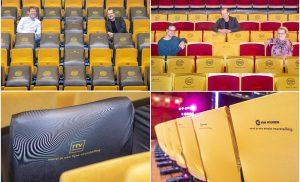 Hoezen theaterstoelen DNK gesponsord door Van Wijnen & RTV Drenthe